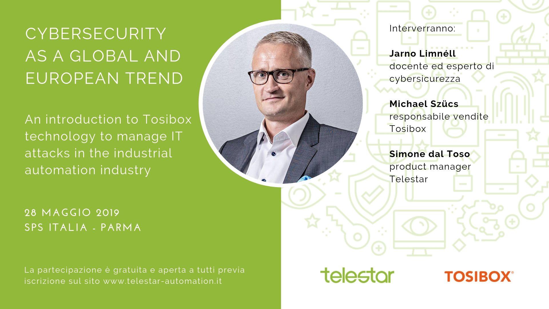 Convegno 28.05.2019 - La cybersecurity come tendenza globale ed europea