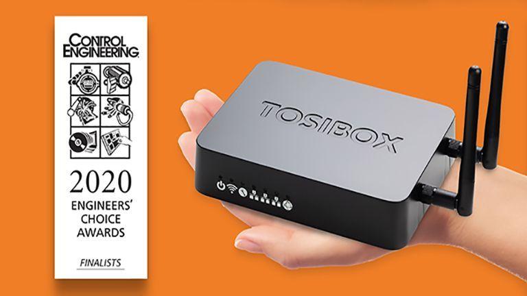 Tosibox® Lock 150 è prodotto finalista al premio <br>'2020 Engineer's Choice Awards'