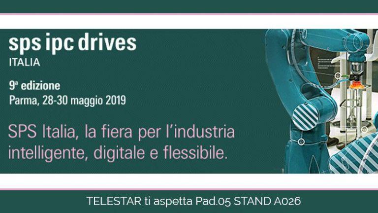 Telestar ha il piacere di invitarti a SPS Italia 2019 - Parma