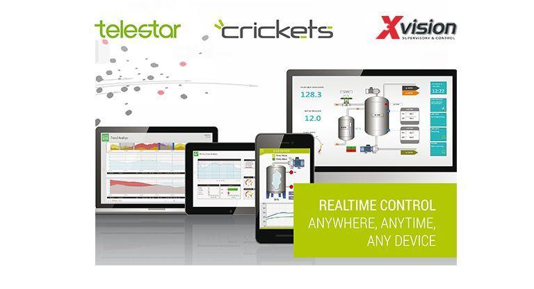 Crickets Automation, il nuovo partner Telestar per il software HMI/Scada.