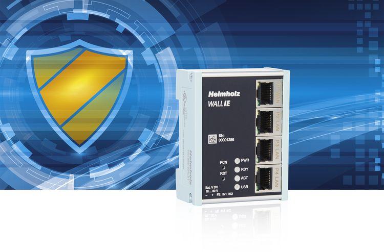 Configurazione semplice e protezione sicura delle reti dati con Wall-IE Helmholz