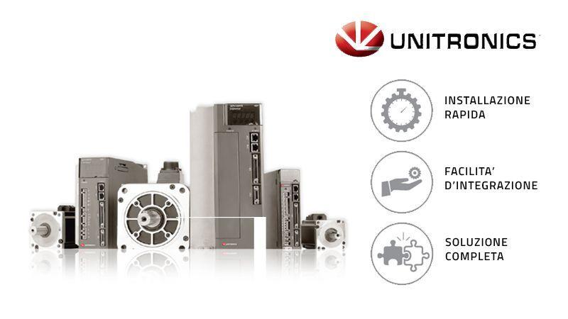 Unitronics presenta la nuova linea di servomotori AC: più facili da installare e programmare
