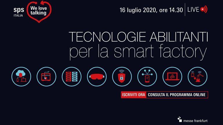 Evento on-line targato SPS Italia: Innovazione dei processi nella fabbrica 4.0
