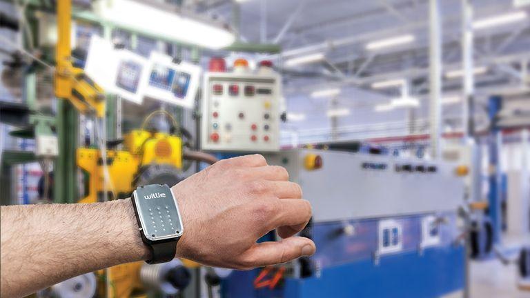 Webinar Willie, il nuovo dispositivo indossabile che agevola l'interazione uomo-macchina