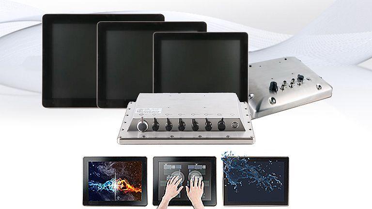 Nuovi Panel PC e Monitor IP69K in Acciaio INOX: alta resistenza agli ambienti più difficili