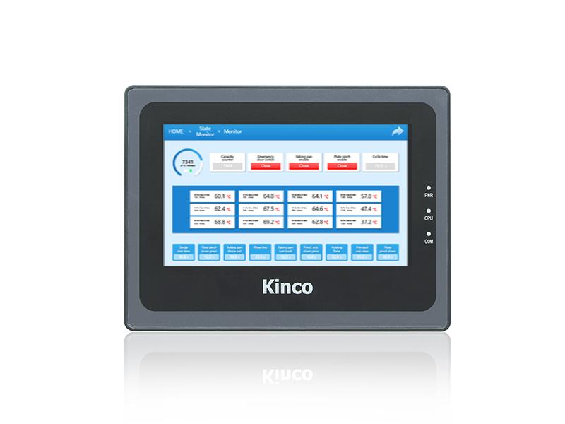 PLC+HMI 7'Touch serie HP070