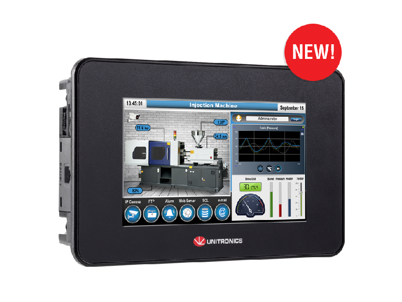 PLC HMI All in-One Serie UniStream Built in
