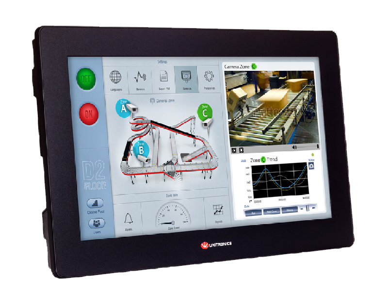 PLC+HMI All in One: Sistema Modulare  Serie UniStream™